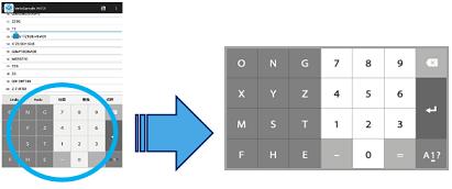 キーボード配列