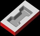 ナスカ・プロ 2.5D 等高線加工 サンプル1
